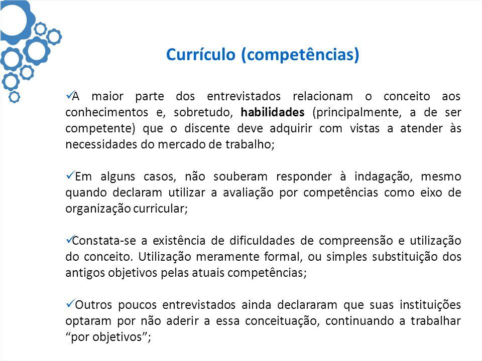 Currículo (competências)