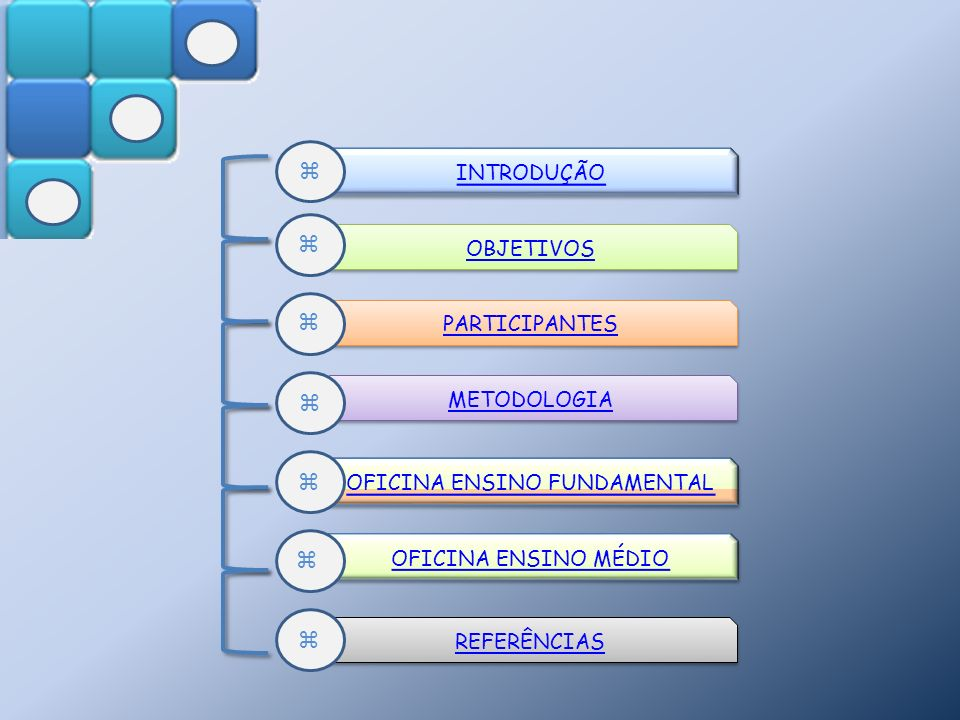 OFICINA ENSINO FUNDAMENTAL