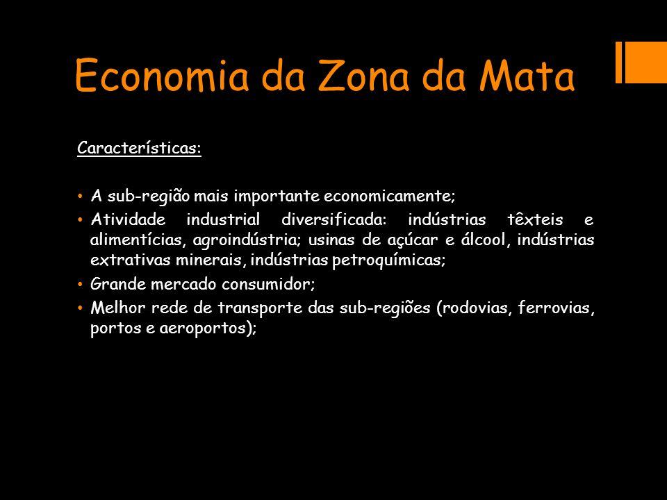 Economia da Zona da Mata