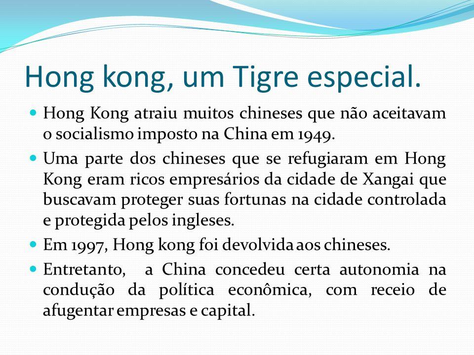 Hong kong, um Tigre especial.