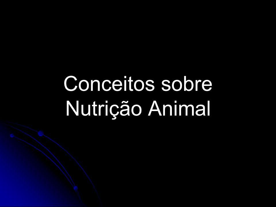 Conceitos sobre Nutrição Animal