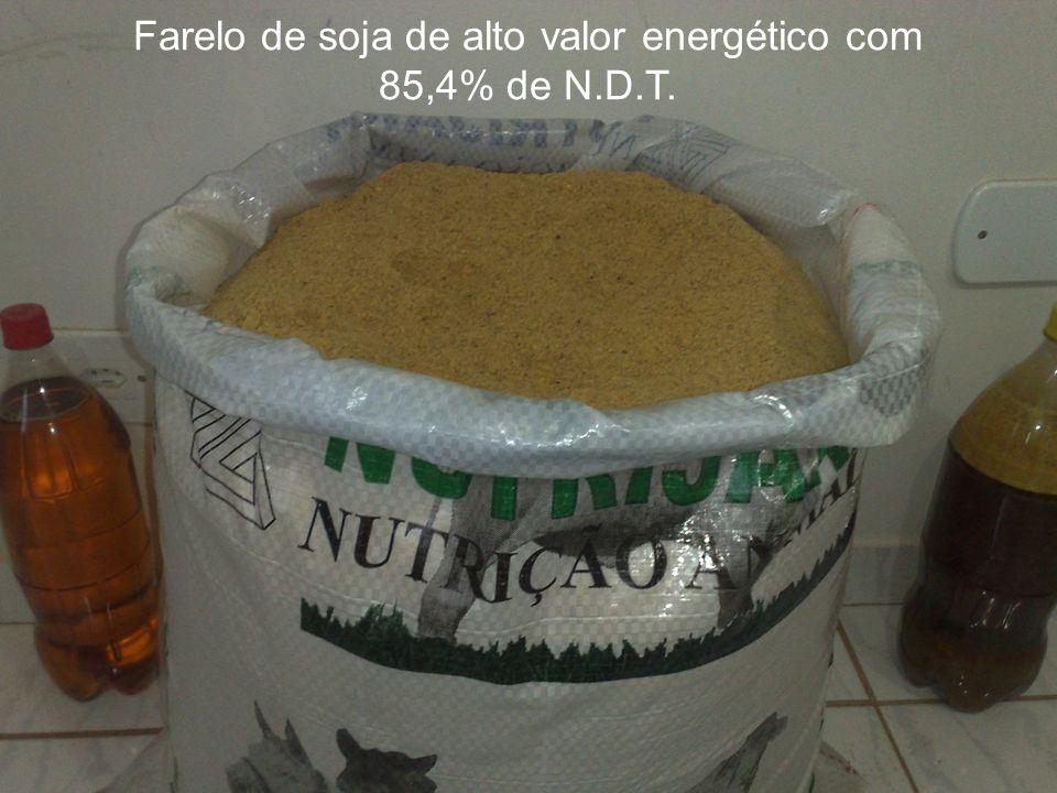 Farelo de soja de alto valor energético com
