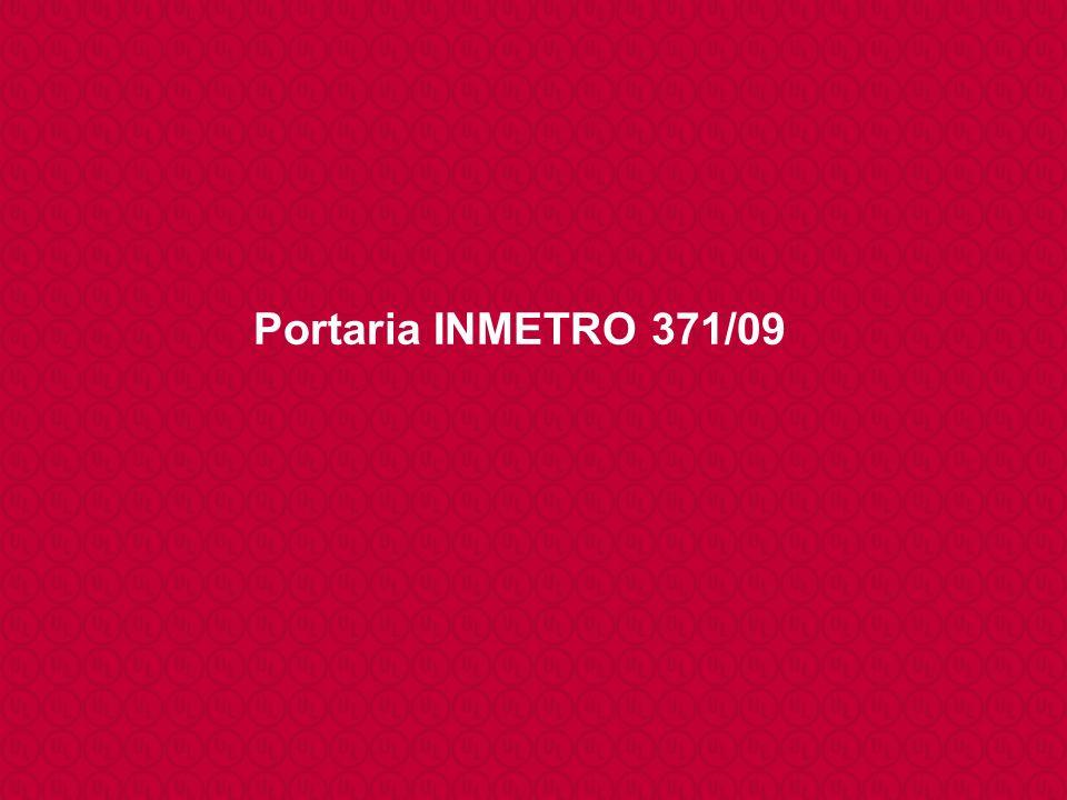 Portaria INMETRO 371/09