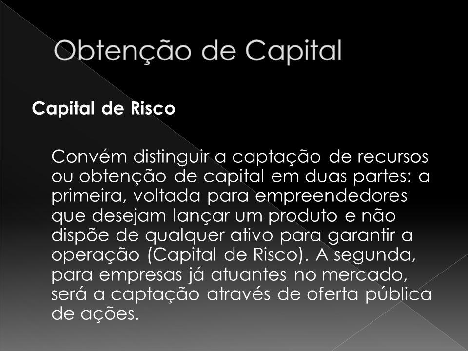 Obtenção de Capital