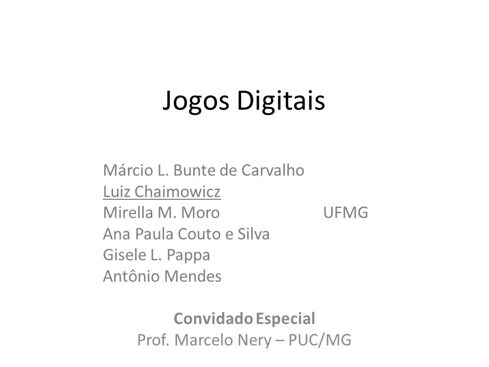 Prof. Marcelo Nery – PUC/MG