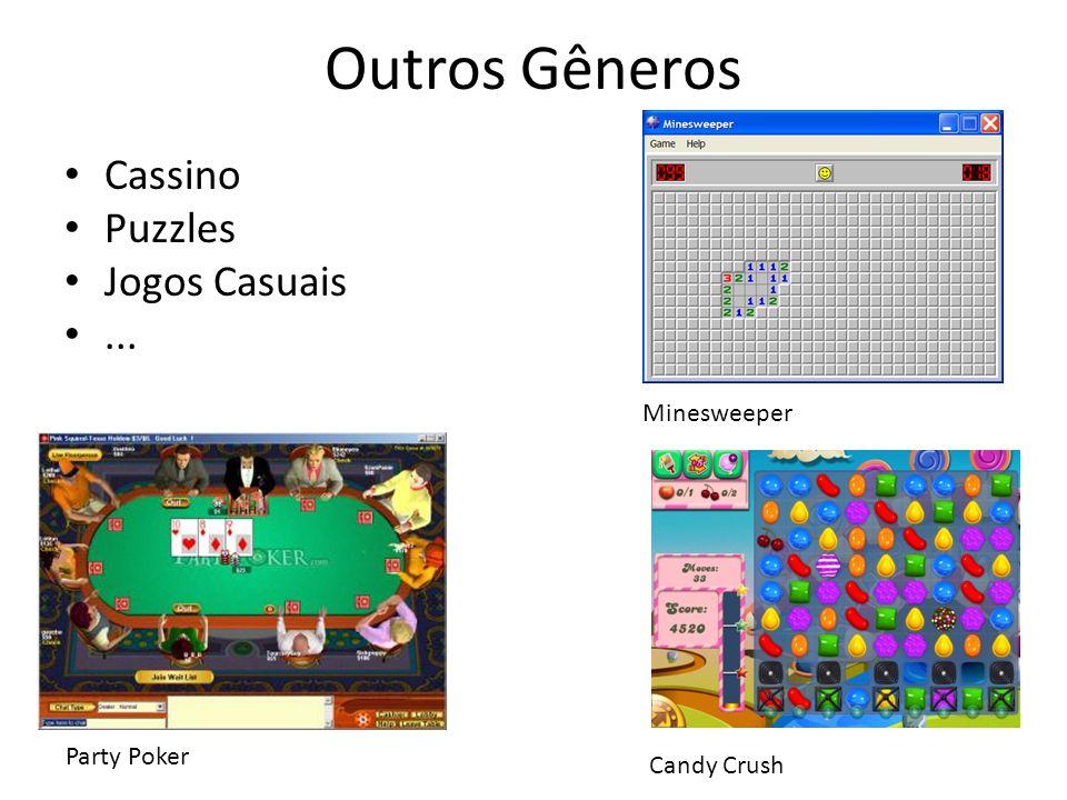 Outros Gêneros Cassino Puzzles Jogos Casuais ... Minesweeper