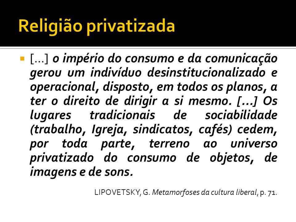 Religião privatizada