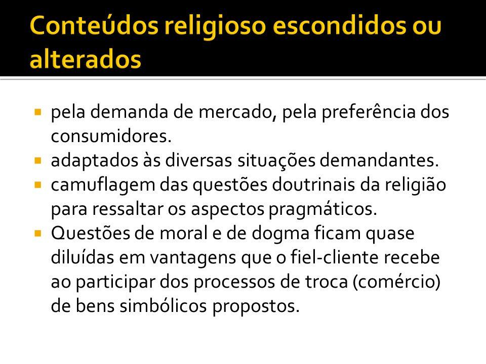 Conteúdos religioso escondidos ou alterados