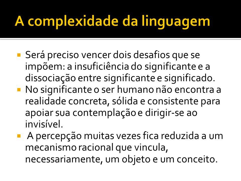 A complexidade da linguagem