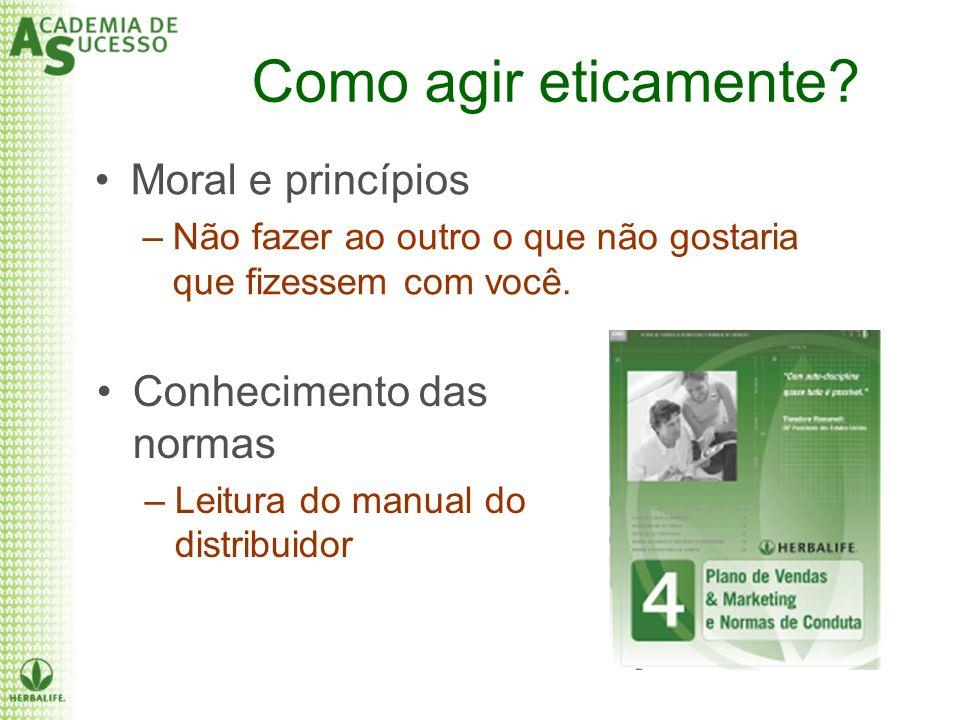 Como agir eticamente Moral e princípios Conhecimento das normas