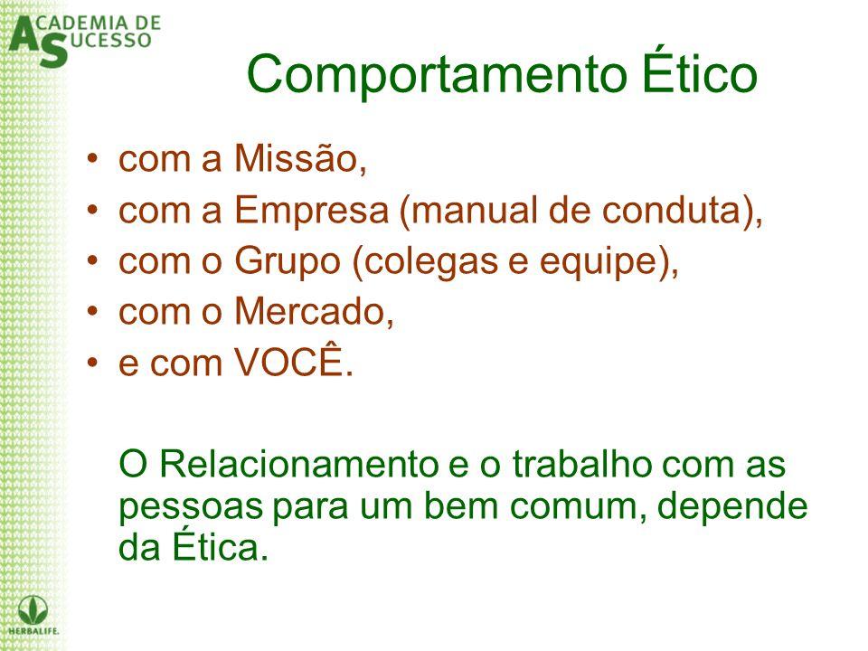 Comportamento Ético com a Missão, com a Empresa (manual de conduta),