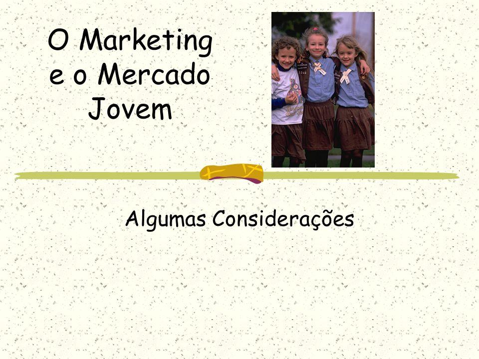 O Marketing e o Mercado Jovem