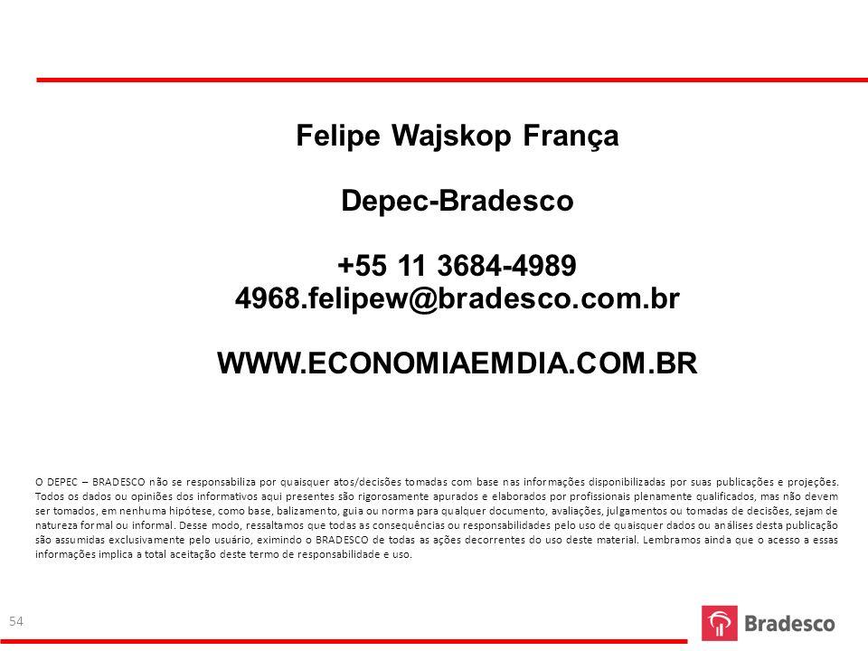 Felipe Wajskop França Depec-Bradesco +55 11 3684-4989
