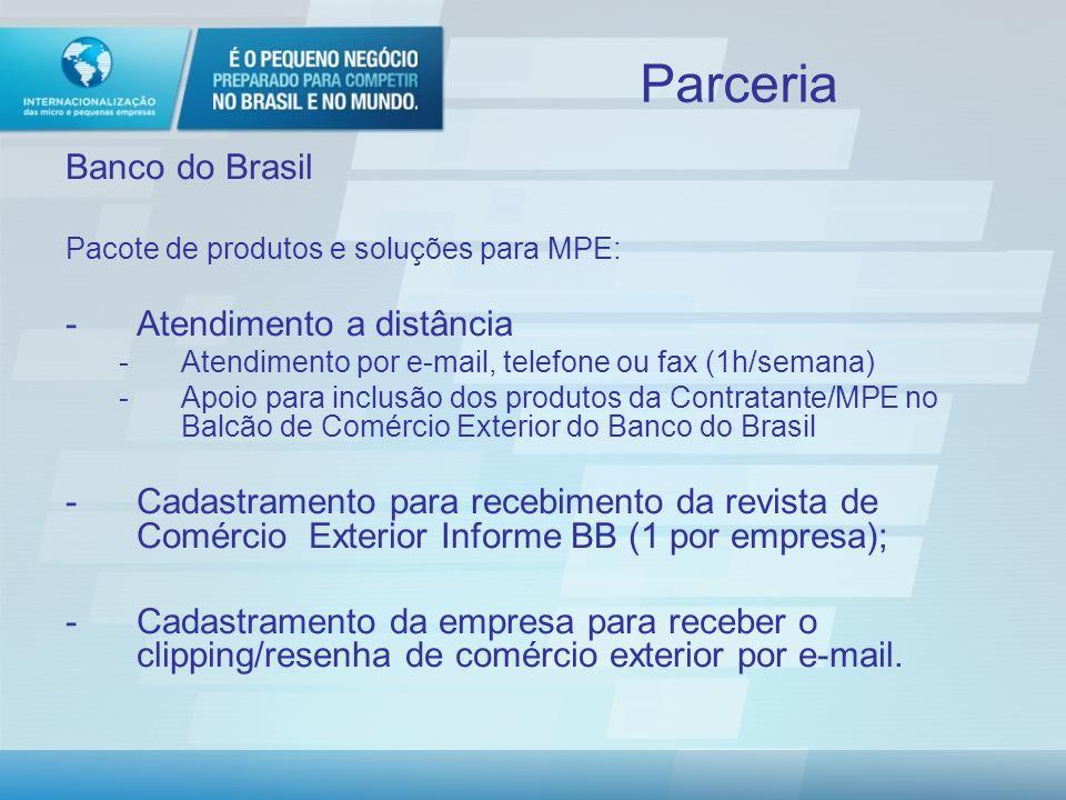 Parceria Banco do Brasil Atendimento a distância