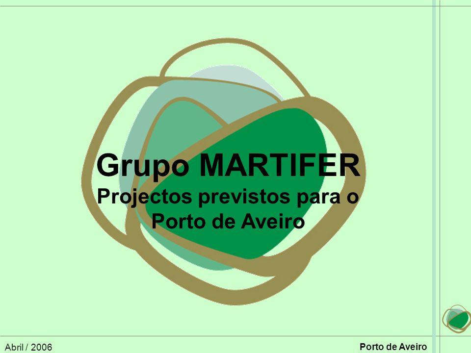 Projectos previstos para o Porto de Aveiro