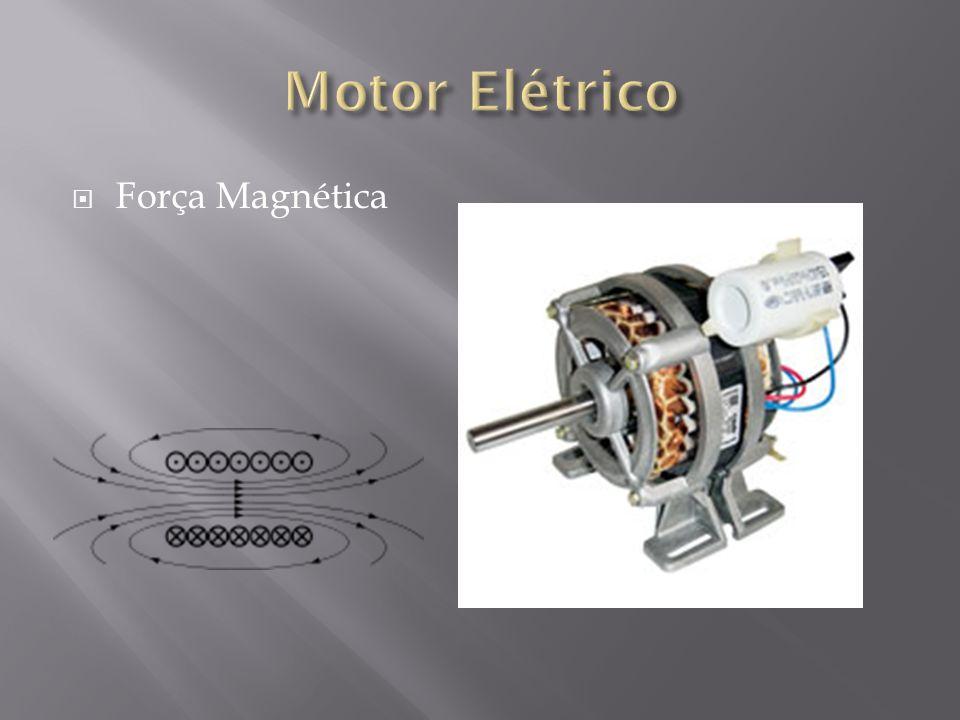 Motor Elétrico Força Magnética