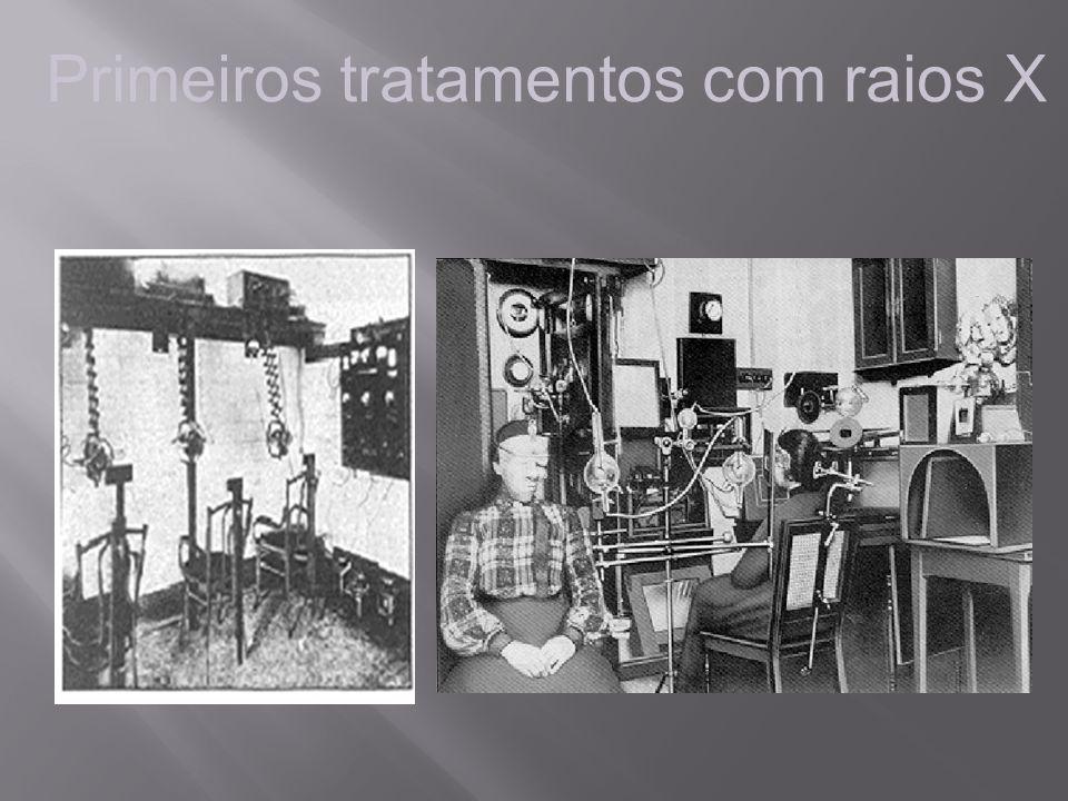Primeiros tratamentos com raios X