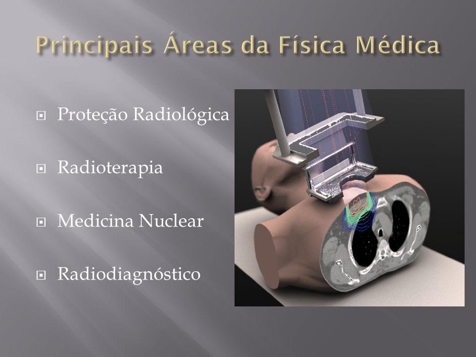 Principais Áreas da Física Médica