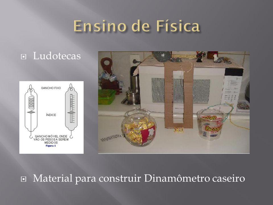 Ensino de Física Ludotecas Material para construir Dinamômetro caseiro