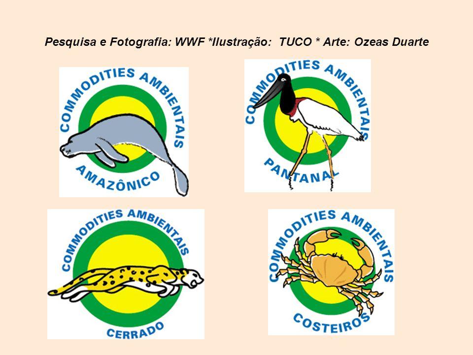 Pesquisa e Fotografia: WWF *Ilustração: TUCO * Arte: Ozeas Duarte
