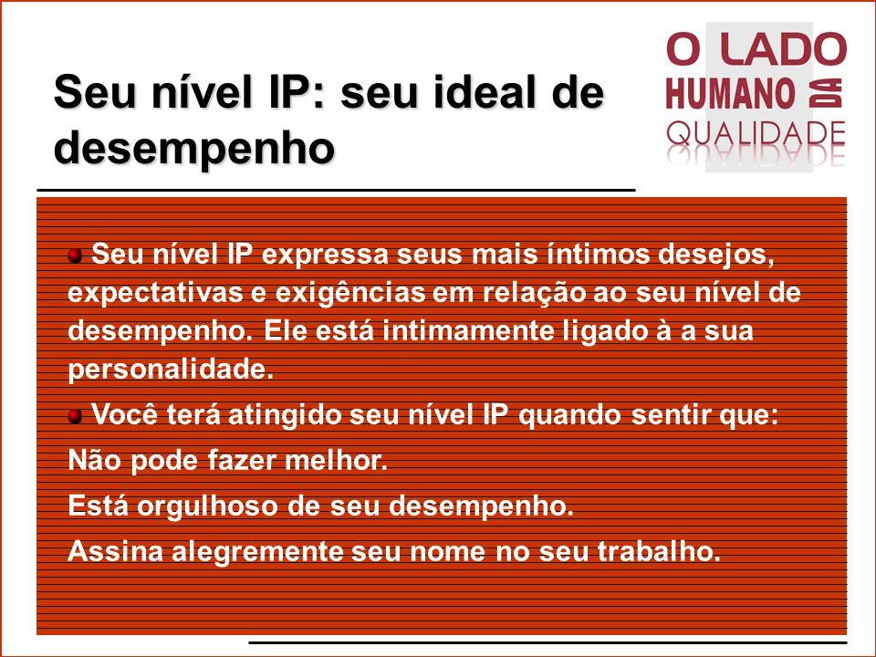 Seu nível IP: seu ideal de desempenho