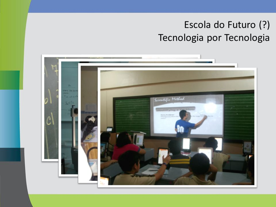 Escola do Futuro ( ) Tecnologia por Tecnologia