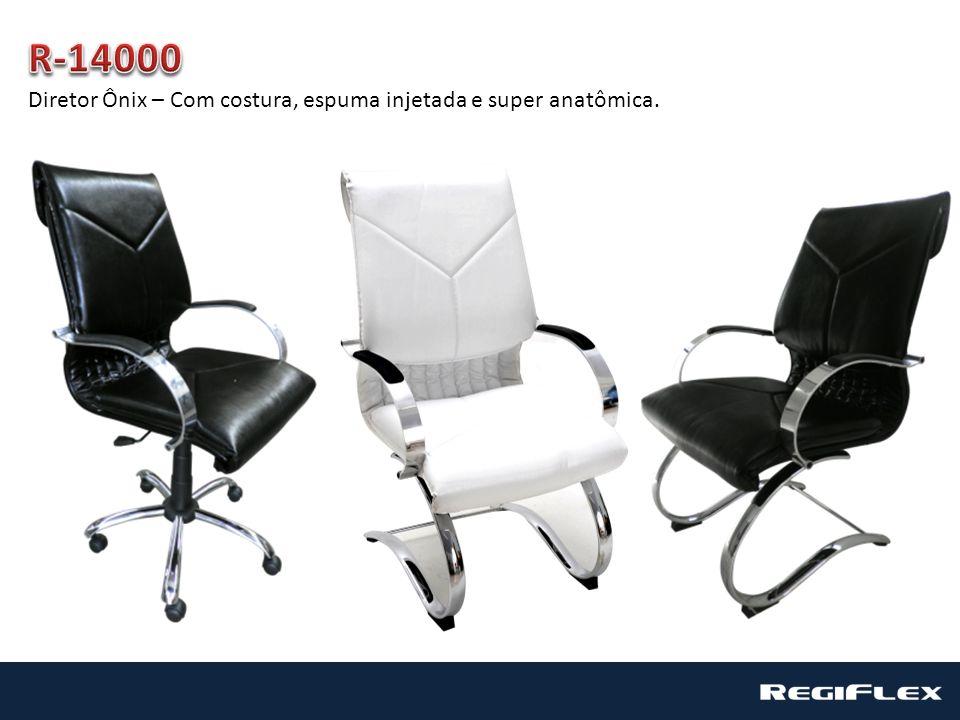 R-14000 Diretor Ônix – Com costura, espuma injetada e super anatômica.