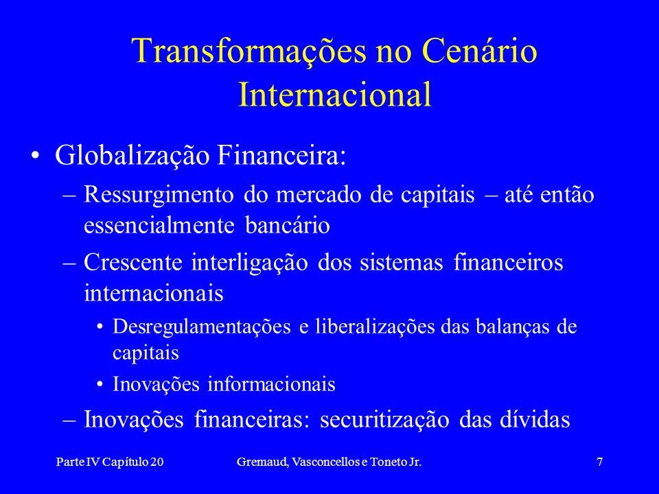 Transformações no Cenário Internacional