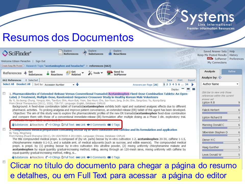 Resumos dos Documentos