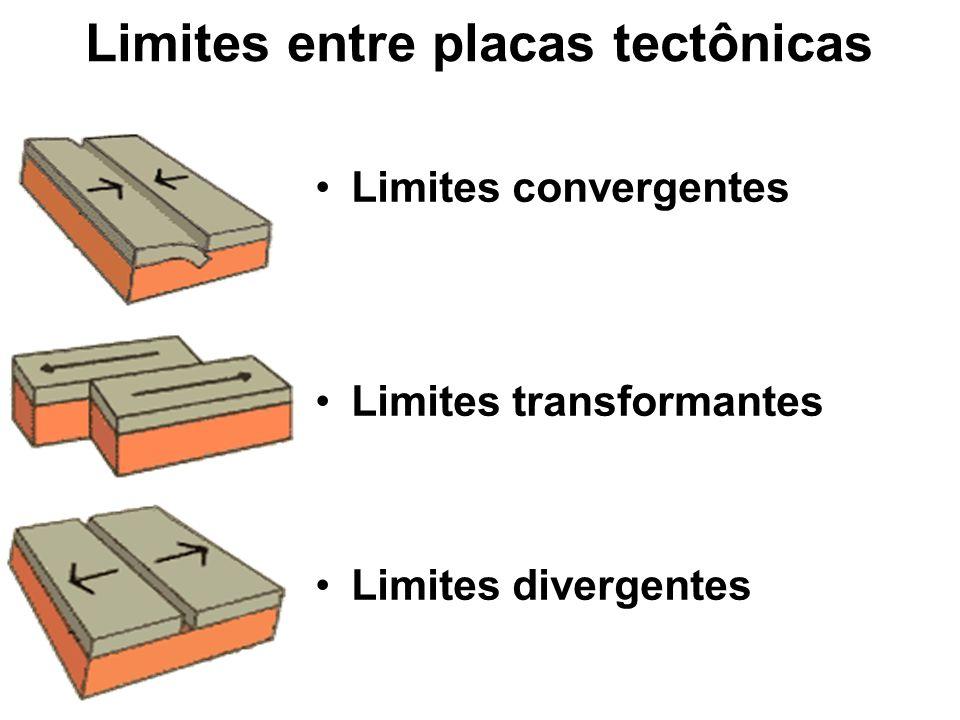 Limites entre placas tectônicas