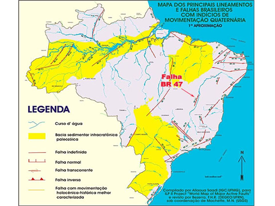 Existem terremotos no Brasil