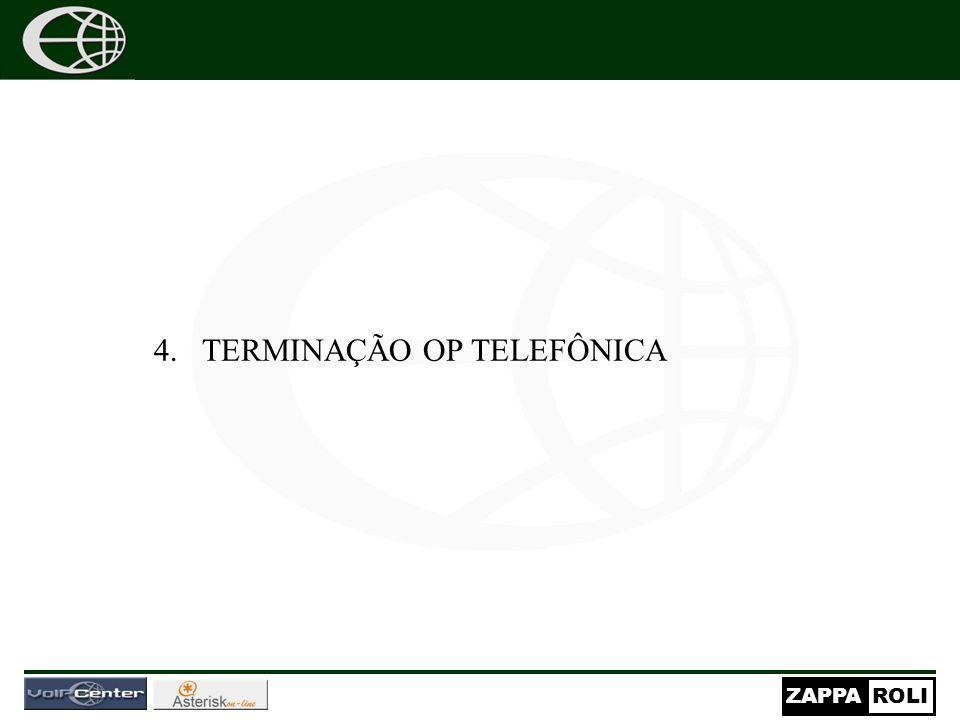 TERMINAÇÃO OP TELEFÔNICA