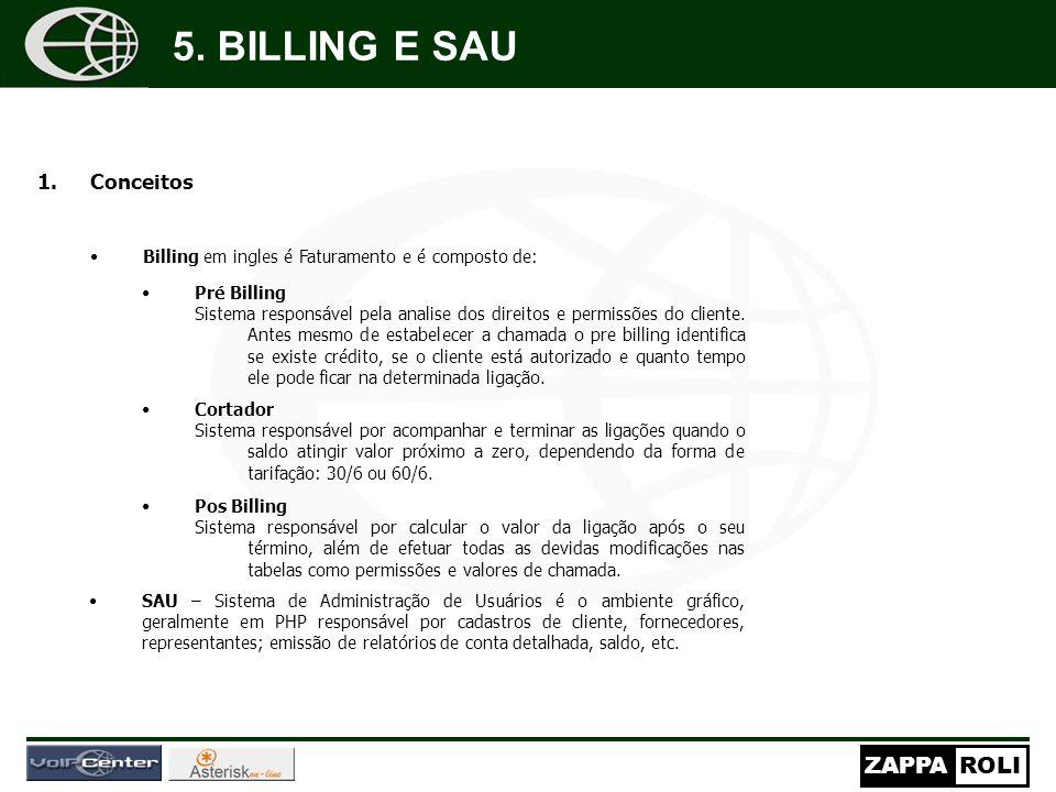 5. BILLING E SAU Conceitos