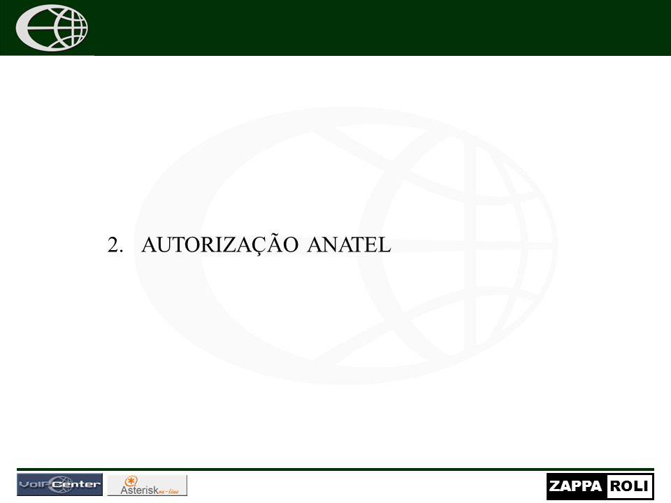 AUTORIZAÇÃO ANATEL