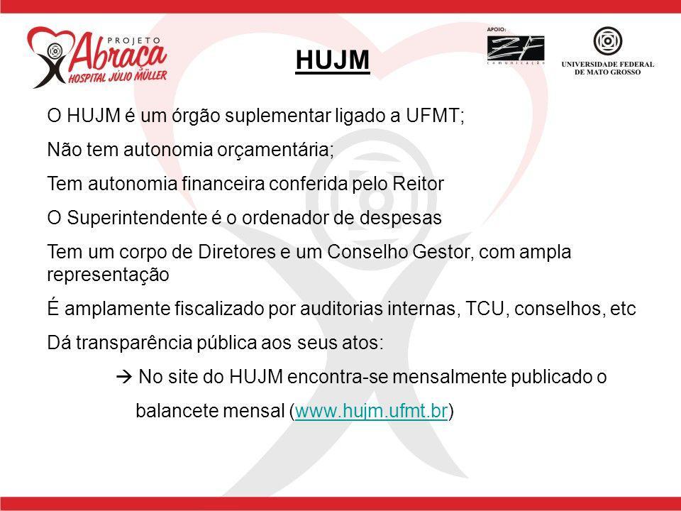 HUJM O HUJM é um órgão suplementar ligado a UFMT;