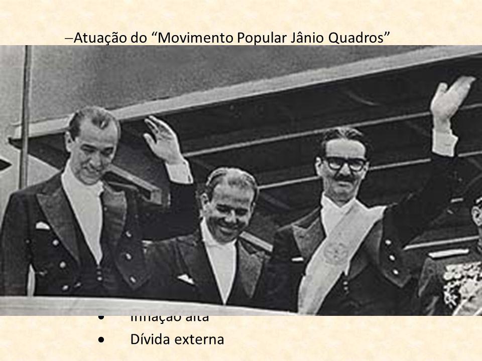 Atuação do Movimento Popular Jânio Quadros
