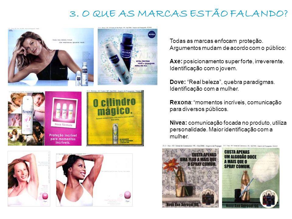 3. O QUE AS MARCAS ESTÃO FALANDO