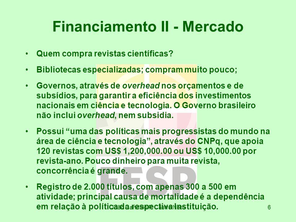 Financiamento II - Mercado