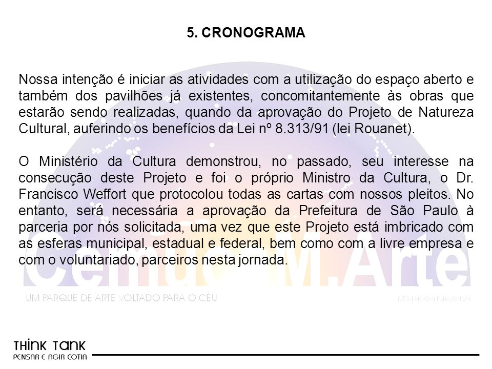 5. CRONOGRAMA