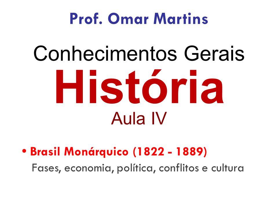História Conhecimentos Gerais Prof. Omar Martins Aula IV