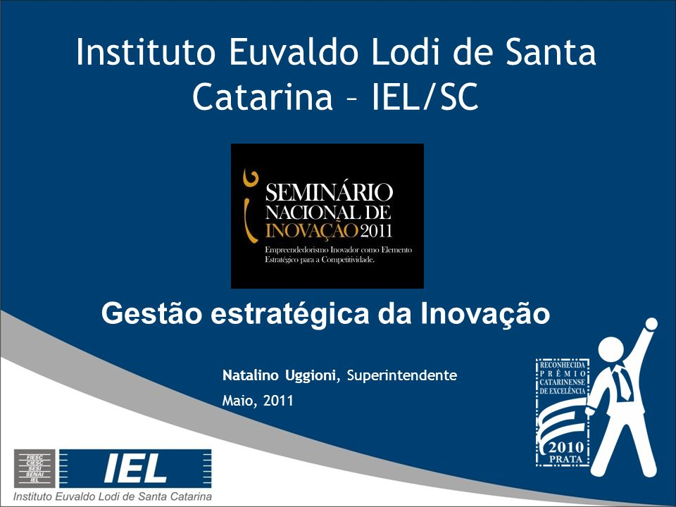 Instituto Euvaldo Lodi de Santa Catarina – IEL/SC