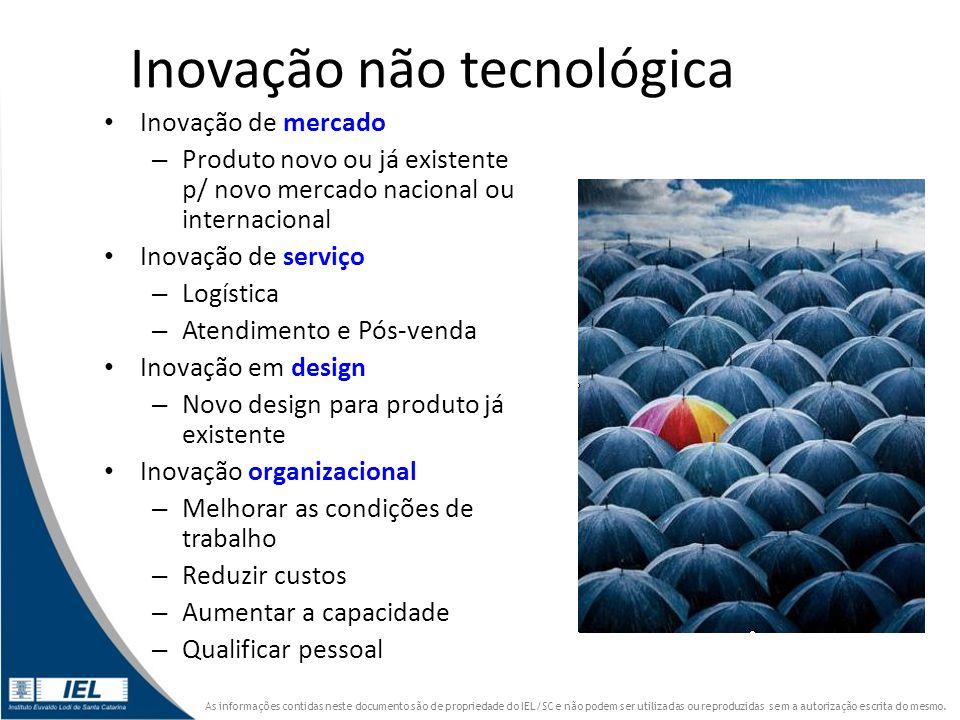 Inovação não tecnológica