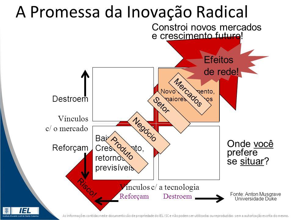 A Promessa da Inovação Radical