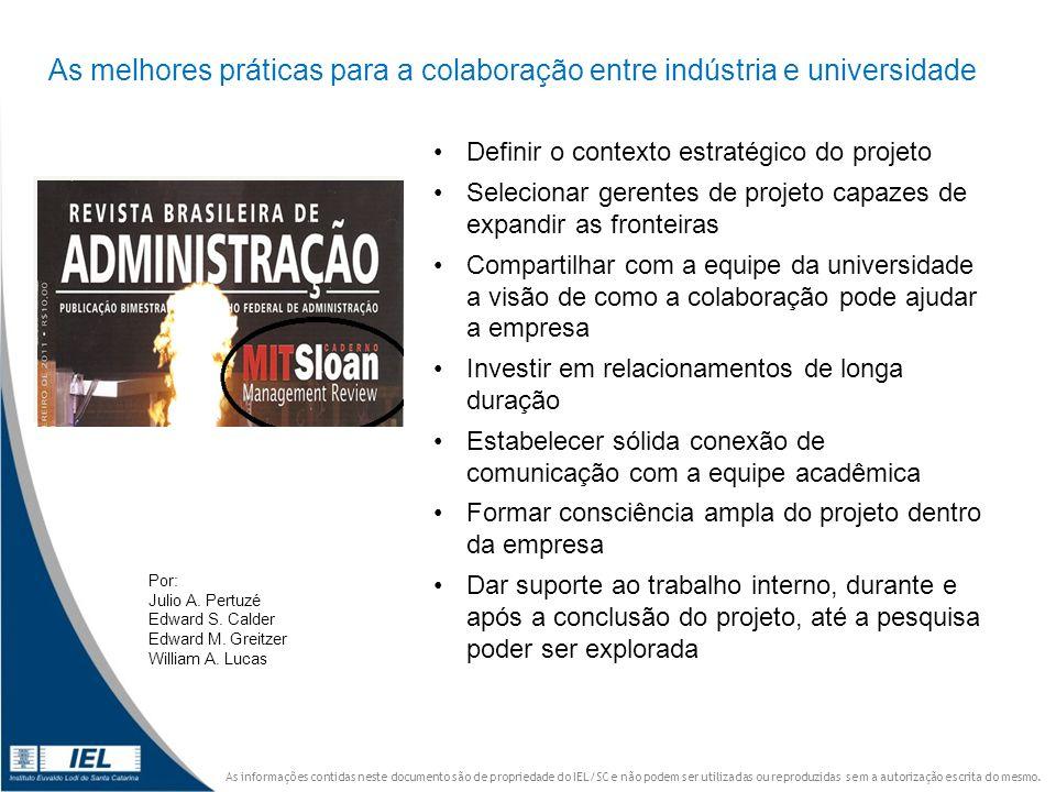 As melhores práticas para a colaboração entre indústria e universidade