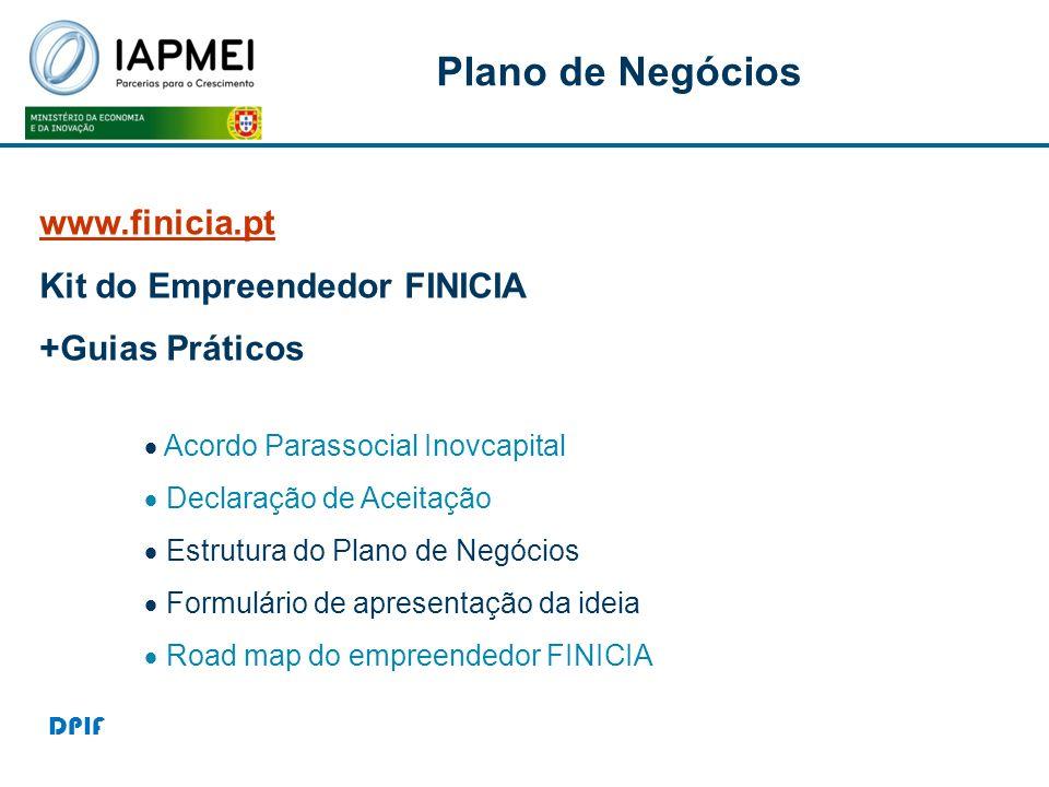 Plano de Negócios www.finicia.pt Kit do Empreendedor FINICIA