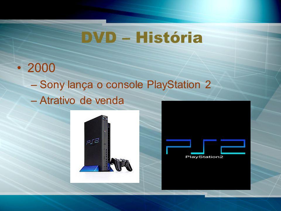DVD – História 2000 Sony lança o console PlayStation 2