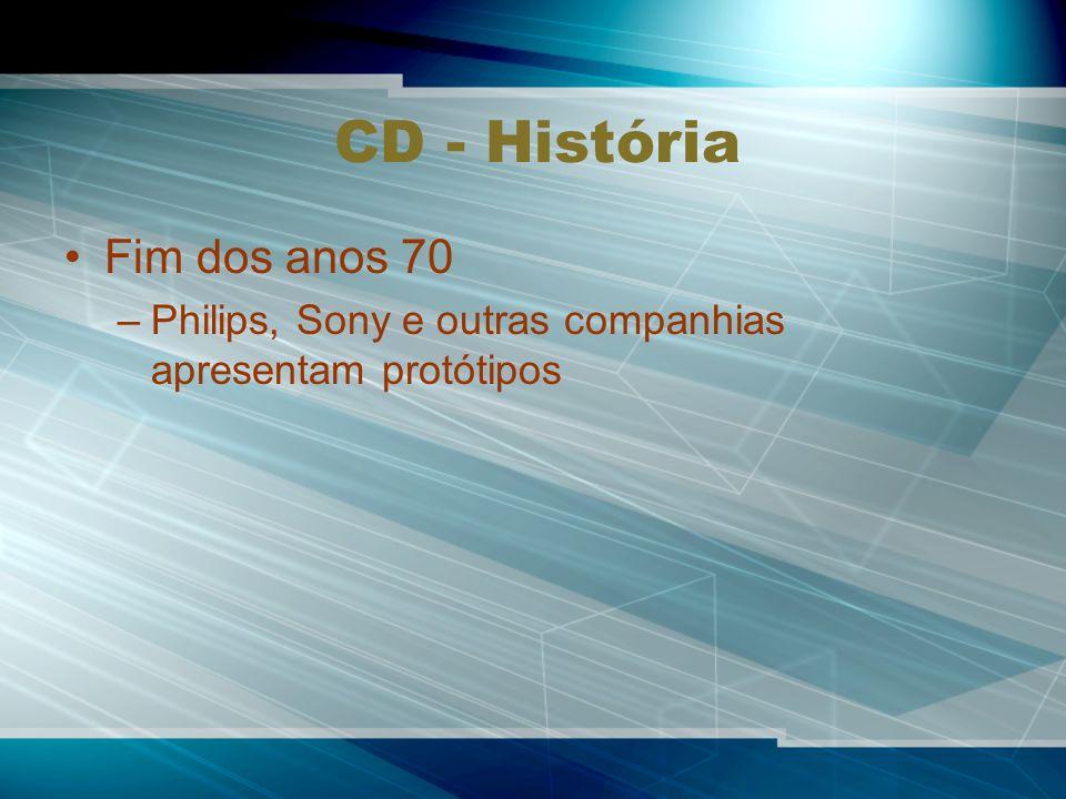 CD - História Fim dos anos 70