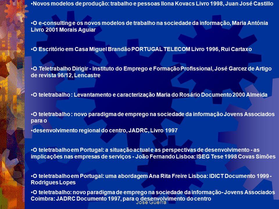 Novos modelos de produção: trabalho e pessoas Ilona Kovacs Livro 1998, Juan José Castillo