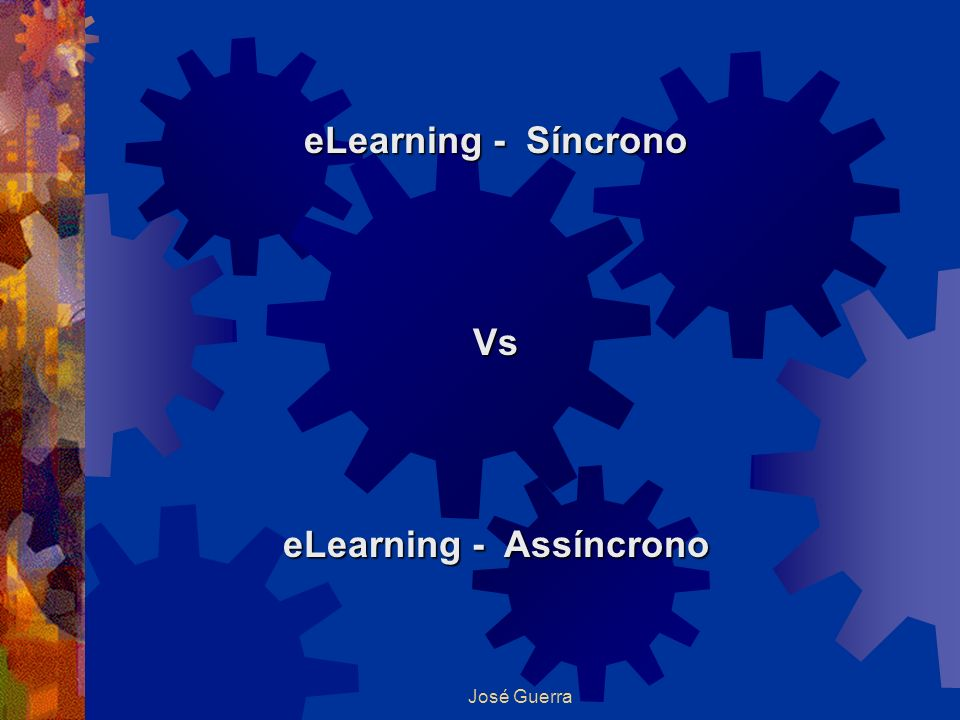 eLearning - Assíncrono