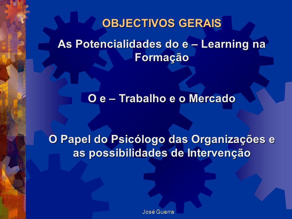 As Potencialidades do e – Learning na Formação